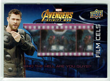 Marvel Avengers Infinity War Film Cel Relic Card FC13 Who the Hell are you Guys?