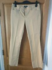 Lauren Ralph Lauren Chino Trousers Light Beige Sand Size 10 UK 6 US W34