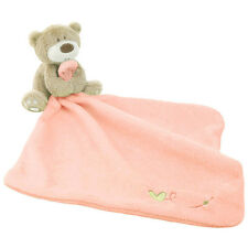1PC NEWBORN BABY INFANT BLANKET SOFT CORAL FLEECE BABY TOYS APPEASE BEAR TOWEL