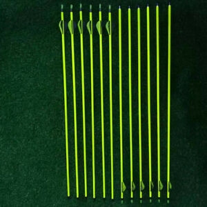 New VICTORY XTORSION 350 Carbon STAINLESS STEEL ARROWS 4 Fletch Yellow