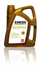 Genuine Japanese Fully Synthetic Engine Motor Oil ENEOS SUSTINA 0W50 4Litres