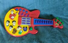 The Wiggles Musical Red Guitar Songs Sounds Music Toy 2003 Spin Master WORKS