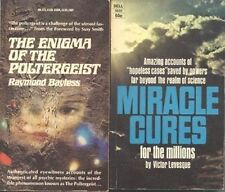 2 PARANORMAL BOOKS, 1967-69 (POLTERGEIST, MIRACLE CURES
