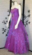 JOLI PROM Dress 2 S teal maxi formal gown Sweet sixteen metallic purple