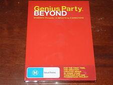Genius Party Beyond - DVD R4 Anime BRAND NEW SEALED