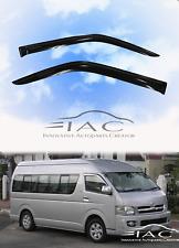 For Toyota HiAce 04-18 Window Visor Vent Sun Shade Rain Guard Door Visor