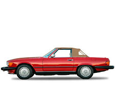 Mercedes R107 560SL 380SL 450SL Convertible Soft Top 1972-1989 TAN Cloth STF