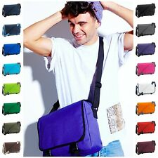 College School Messenger Bag Work Dispatch Courier Laptop Shoulder Mens Ladies