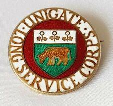 More details for rare badge ~ milkmen ~ unigate corps long service ~ hallmarked silver b'ham 1969