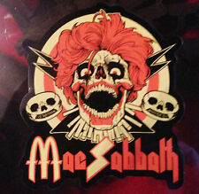 Mac Sabbath sandwich bloody sandwich sticker ALL OTHER SELLERS ARE BOOTLEGGERS