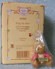 Cherished Teddies Ricky Mcbear 2000 Membear Get Membear Figurine 731765 Nib