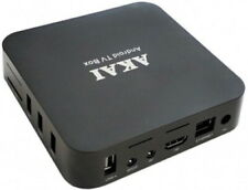 AKAI E-Box ABSB28 Smart TV Box 8GB Memory 2GB RAM Android 8.1 - Black B+