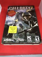 Call of Duty 2. PC CD-ROM Game by Activision. 6 Discs w/Instructions and Case