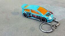 Diecast Citroen C4 Rally Blue Keyring / Keychain NEW
