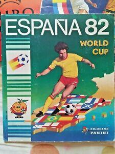 ESPANA 82 -1982 PANINI ALBUM COMPLETE 100%