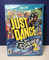 Just Dance Disney Party 2 (Nintendo Wii U, 2015) Brand New Factory Sealed