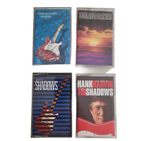 The Shadows / Hank Marvin Cassette Tapes Bundle (x4 Albums) Good Condition