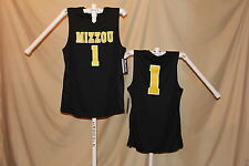 MISSOURI TIGERS   Basketball Jersey  #1   size  2XL   by Pro Edge     NWT