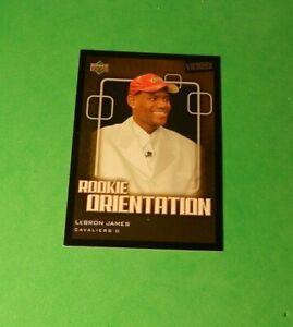 2003-04 Upper Deck Victory Lebron James #101 Rookie Orientation (A)