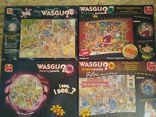 4 x Wasgij 1000 Piece  jigsaws - job Lot Bundle,  Original /Retro/ Mystery