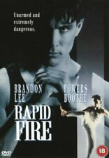 Rapid Fire - Sealed NEW DVD - Brandon Lee
