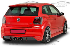REAR BUMPER SPOILER LOWER DIFFUSER R32 LOOK FOR VW POLO 5 6R 2009-2014 HA035B