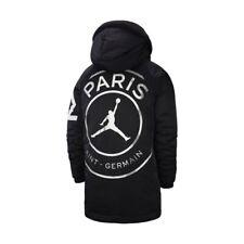 RARE Nike Air Jordan PSG Flight Parka Jacket Black (S) Winter Ltd Ed. NEW 18/19