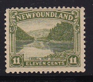 Album Treasures Newfoundland Scott # 140  11c  Shell Bird Island  Mint LH