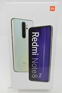 Xiaomi Redmi Note 8 Pro Dual 128GB Pearl White Unlocked 4G LTE 4500mAh BRAND NEW