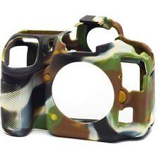 Pantalla IV Protector EasyCover silicona piel cubierta Canon EOS 5D Mark 4 in approx. 10.16 cm NEGRO