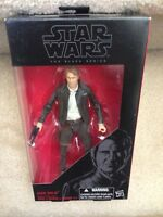 """HAN SOLO The Black Series FORCE AWAKENS Star Wars 2017 6"""" Action Figure"""