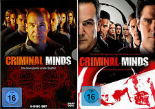 Criminal Minds - Die komplette 1. + 2. Staffel                       | DVD | 444
