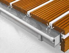 Stahlbalkon Musterset  Lärche Balkon  Terrasse WPC