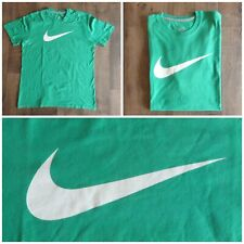 Nike t-shirt uomo verde e bianca logo avellino calcio sportswear Men TG. XL