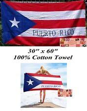 Puerto Rico Bandera Banner Grande 76.2x152cmCOTT en Baño Piscina Playa Toalla