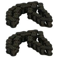 NEW - 2 Dixon ZTR Mower SHORT Drive Chains 5246 539129383 15 inch S4030WL