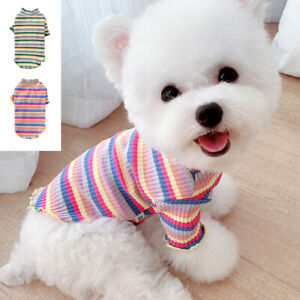 Cute Pet Cat Puppy T Shirt for Small Dogs Yorkie Chihuahua Clothes Poodle Vest