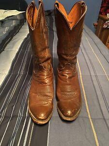 Lucchese calfskin boots 11D