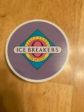 Set Of 24 Ice Breakers Party Cards Fun Coasters Made 1986 Vintage Holiday Fun