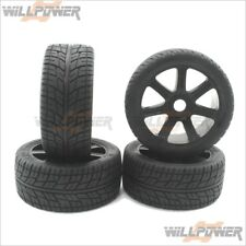 1/8 On Road RT Tires + 7 Spokes Wheels w/Foam (RC-WillPower) Z-Car SH