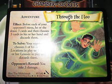 HARRY POTTER TCG CARD CHAMBER OF SECRETS THROUGH THE FLOO 85/140 UNCO MINT EN