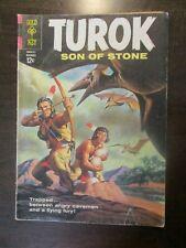 TUROK SON OF STONE #36 GOOD GOLD KEY COMICS 1963