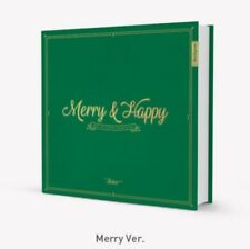 Twice Merry & Happy 1st Repackage Album Book Photo Sticker Post card Merry Ver.