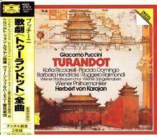 GIACOMO PUCCINI - TURANDOT - HERBERT VON KARAJAN - 2CD - 1997 - F/S