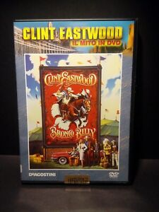 DVD Clint Eastwood DeAgostini Bronco Billy Nuovo No Blister