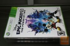 Disney Epic Mickey 2: The Power of Two (Xbox 360 2012) COMPLETE! - EX!