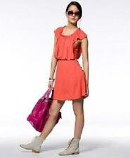 NWT Marc by Marc Jacobs AURORA Flamingo Red Orange Matte Jersey Dress L $358.00