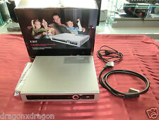 T-Home Media Receiver X301T Silber in OVP inkl. FB, 160GB HDD, 2J. Garantie