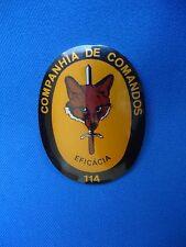 PORTUGAL COMANDOS COMMANDOS UNIT BADGE COMPANHIA 114 EFICACIA