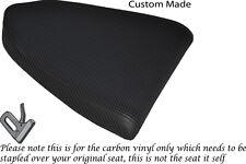 CARBON FIBRE VINYL CUSTOM FITS APRILIA RSV RSVR 1000 04-08 REAR SEAT COVER